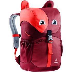 Deuter Kikki Plecak 8L Dzieci, cardinal-maron